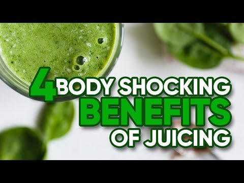 4 Body Shocking Benefits Of Juicing