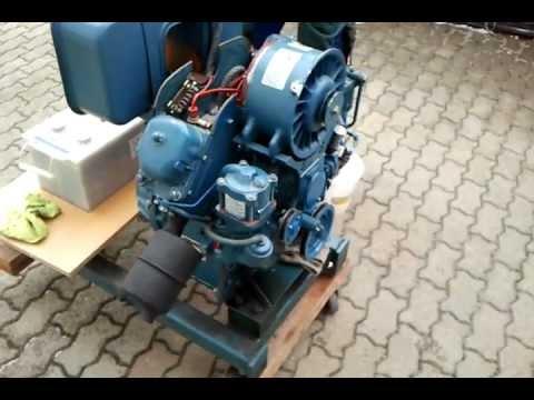 Multicar Motor M22 2kvd 8 8svl Probelauf Youtube