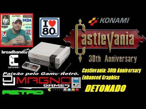 Castlevania 30th Anniversary Enhanced Graphics Nintendo® 1987 Detonado