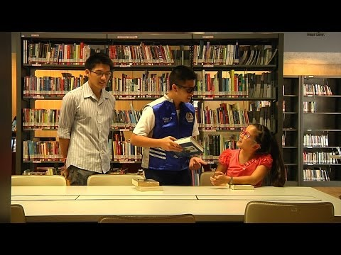 English Mission (Episode 6) - Visiting the Library