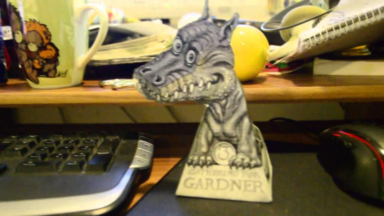 3d Dragon Illusion Gardner Youtube