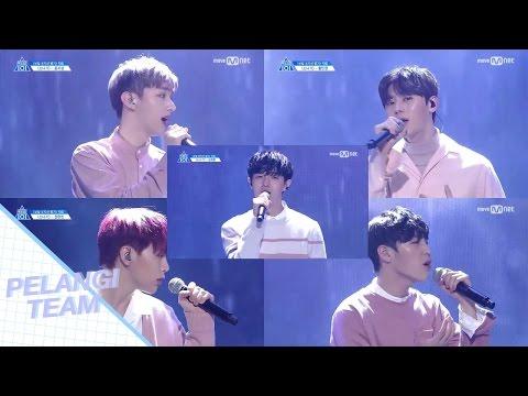 [Vietsub + Engsub] Downpour (소나기) - Produce 101 Season 2   Vocal Position