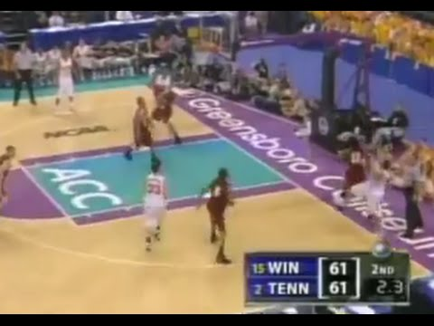 3.16.2006 Tennessee 63 Winthrop 61 (NCAA Tournament)
