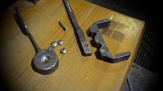 Blacksmith craft. Decorative rivet. Декоративная заклепка.  Художественная ковка уроки