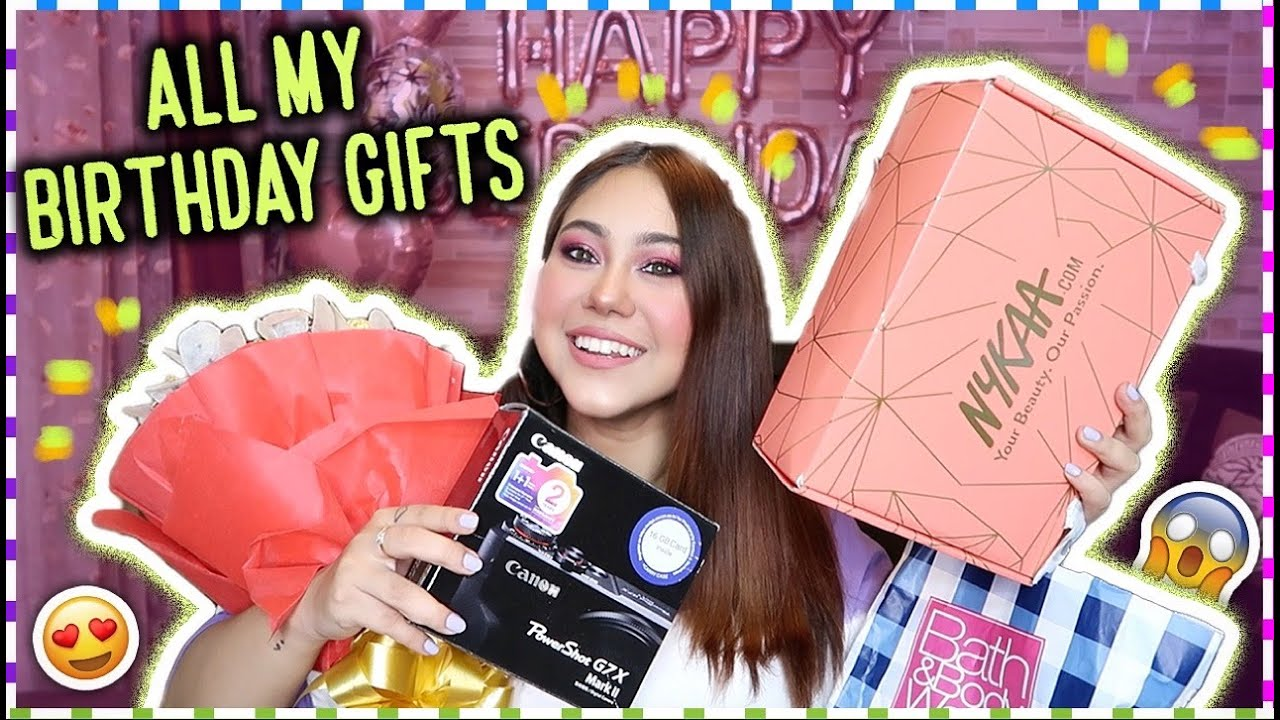 Opening ALL My BIRTHDAY Gifts! New Camera, Makeup & MORE #QuirkyBirthdayWeek | ThatQuirkyMiss