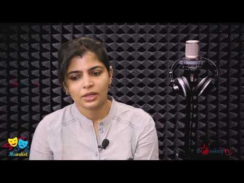Chinmayee about Harris Jayaraj's Audio Quality