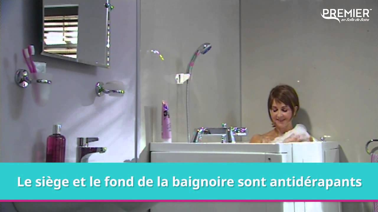 baignoire porte venise youtube. Black Bedroom Furniture Sets. Home Design Ideas