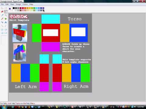 how to make your own clothes on roblox without bc