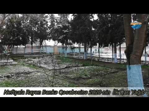 Neftçala Bankə Qəsəbəsi 2020 ilk Qarı (Ases TV)