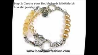 Jewelry making -- A short introduction to DoubleBeads DIY Mix & Match jewelry kits Thumbnail