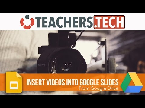 How to Insert Videos in Google Slides