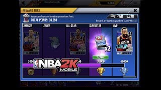 Gauntlet Final Game 6 Blowout - Payton + Harden 24 pts! NBA 2K Mobile #35