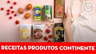 3 receitas com produtos Continente - Continente Magazine