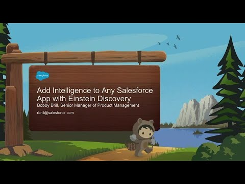 Add Intelligence To Any Salesforce App With Einstein Discovery (2)