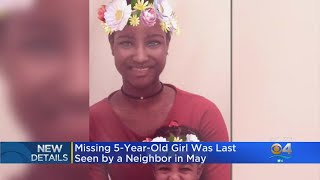 Neighbor Last Saw Missing 5-Year-Old Taylor Rose Williams In May