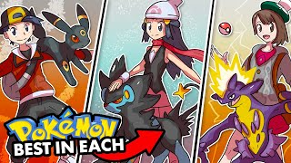 BEST POKEMON FOR COMPLETING EVERY MAIN GAME