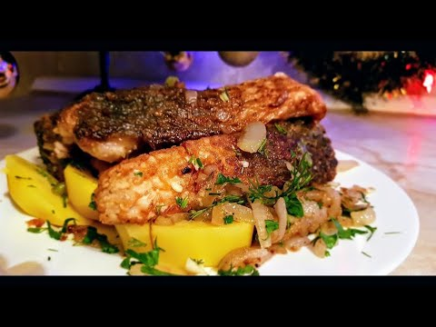 Золотая рыбка по-цыгански. Жареный карп. Gipsy Cuisine.