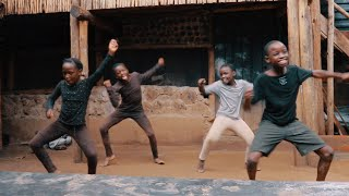 "Masaka Kids Africana Dancing ""Stayin' Inside"" 