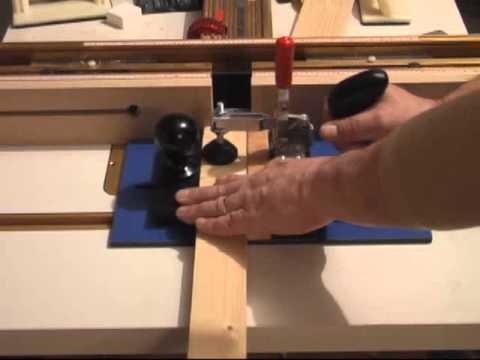 Infinity Cutting Tools - Rail & Stile Router Bit Setup Block - YouTube