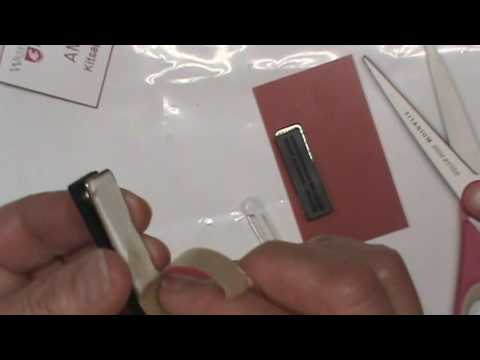 Brilliant Hack How to Replace Nametag Pin with Magnet