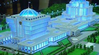 Выставка макетов парламентского центра / The exhibition layout Parliamentary Centre