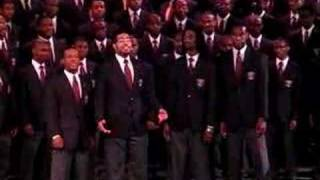 """Morehouse Quartet at Branson School """"Let the Church Roll On"""""""