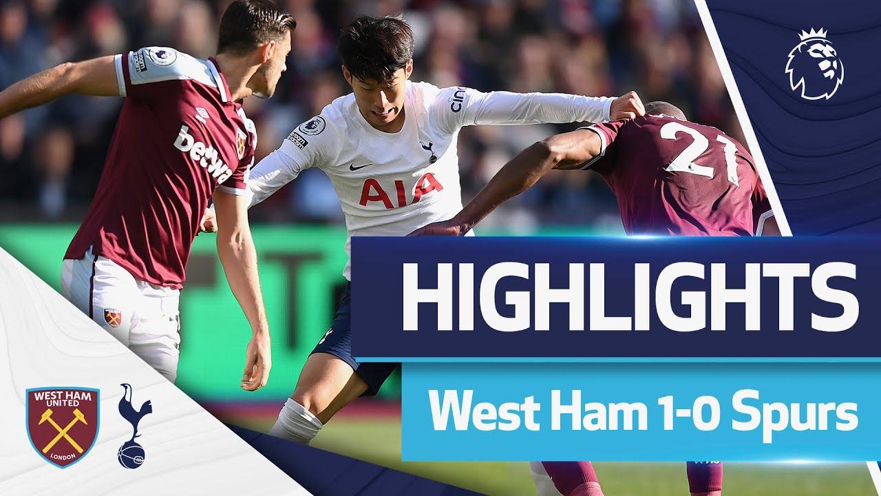 Download Antonio goal settles London derby   HIGHLIGHTS   West Ham 1-0 Spurs