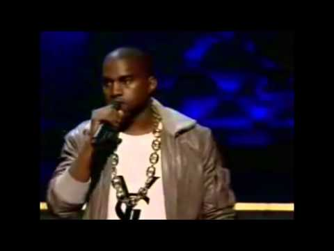 Kanye West presents Vanguard Award Hype Williams