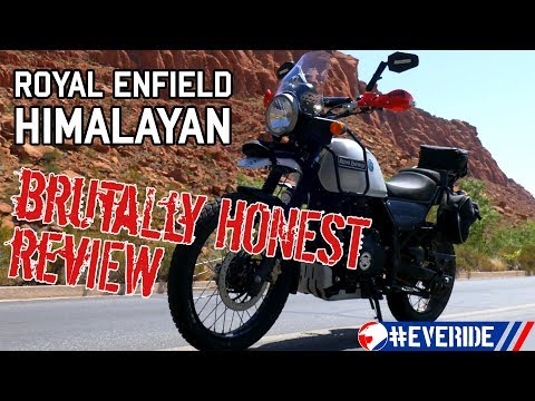 Royal Enfield Himalayan BRUTALLY HONEST REVIEW: A McDouble of a Motorcycle! #everide