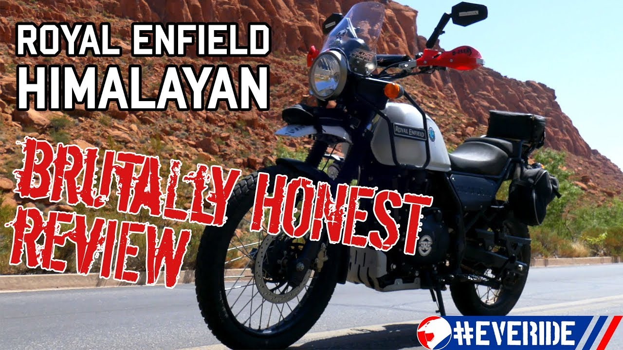 Royal Enfield Himalayan Brutally Honest Review A Mcdouble Of A