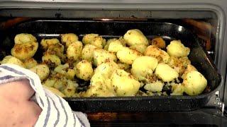 Christmas Roast Potatoes With Rosemary & Parmesan Recipe