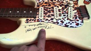 """Jeff Beck"" Autographed Artist Guitar and some other stuff.."