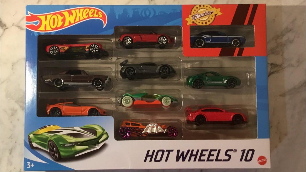 NIB VHTF 2020 Hotwheels 2020 Koenigsegg Jesko Lot Of Ten 10