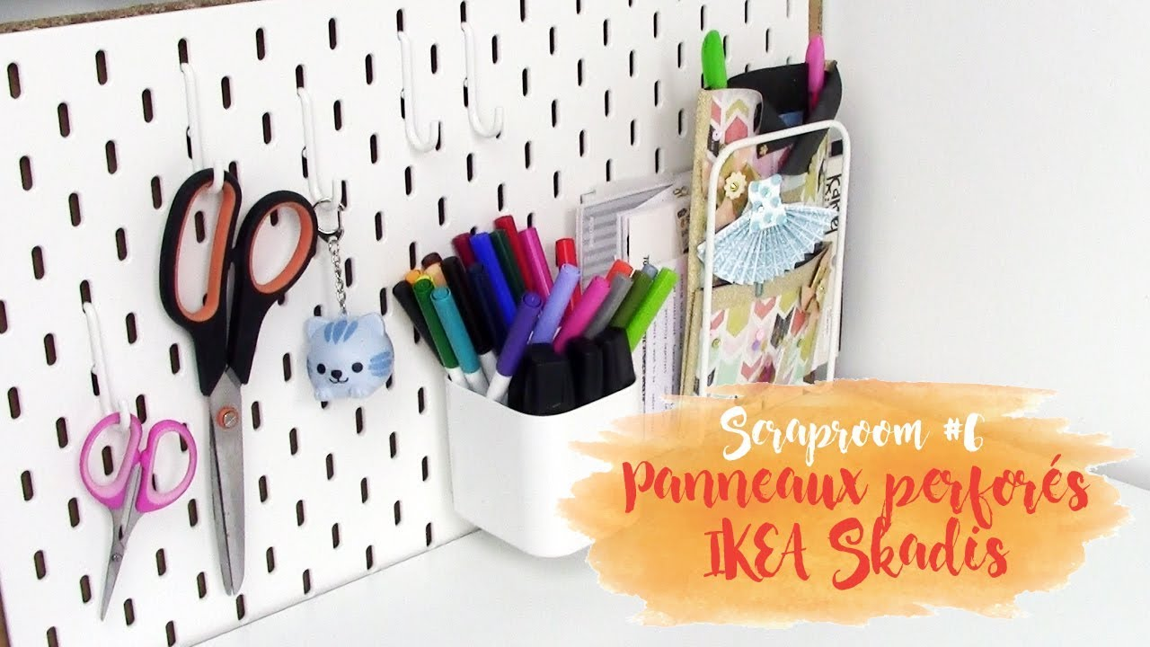 Scraproom Panneaux Perforés Ikea Skadis Pnixie