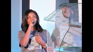 Tosyn Bucknor Give Me My 1st BreakSays Simi As Tears Roll From Her Eye Falz Pay Tributes