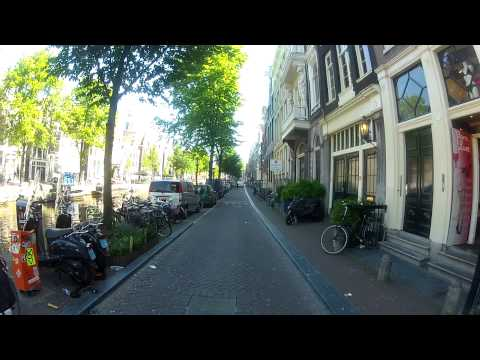Amsterdam, Holland.What a beautiful city tour! Head cam. Fatih Aksoy