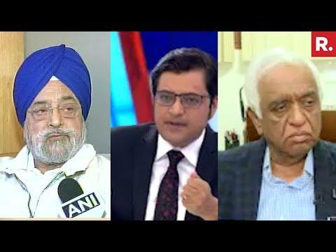 Arnab Goswami Speaks To Justice RS Sodhi & Justice Mukul Mudgal
