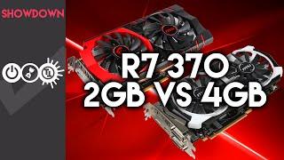 r7 370 2gb vs 4gb graphics card showdown