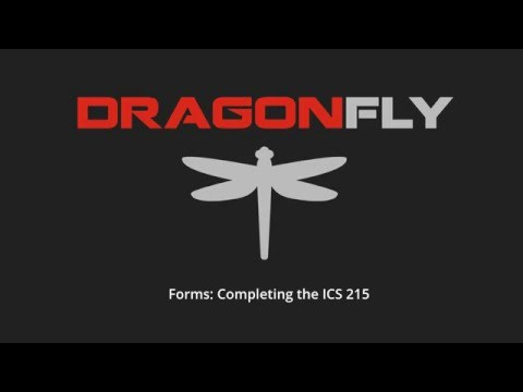 Completing Form ICS 215 - YouTube
