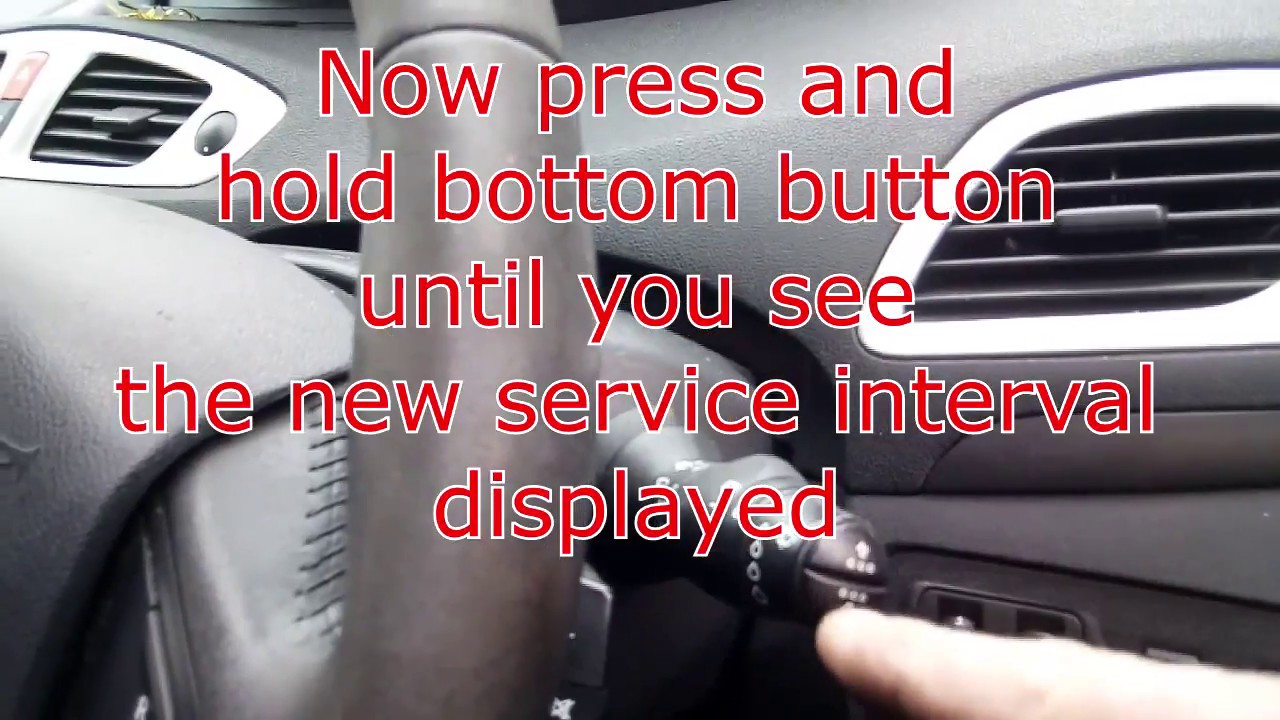 renault scenic 2015 service intervals