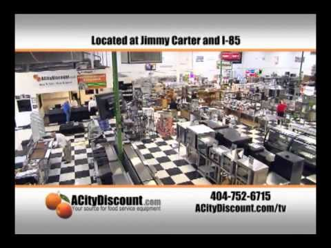 ACityDiscount is the authority on restaurant equipment from new to used and pre-owned. We have been in the business serving the Atlanta area for over 40 years, and have a global Learn more about ACityDiscount, Opens a popup4/4(12).