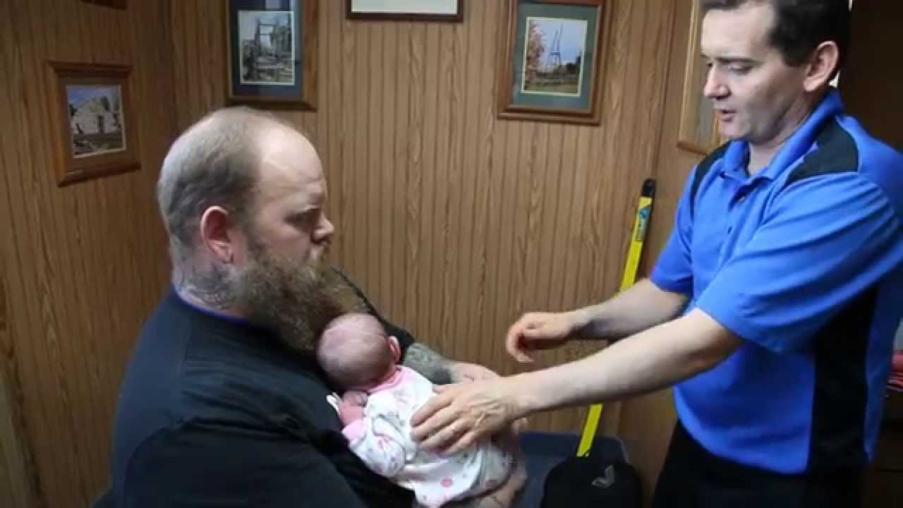 Healing Reflux Naturally 14 Day Old Newborn Chiropractor