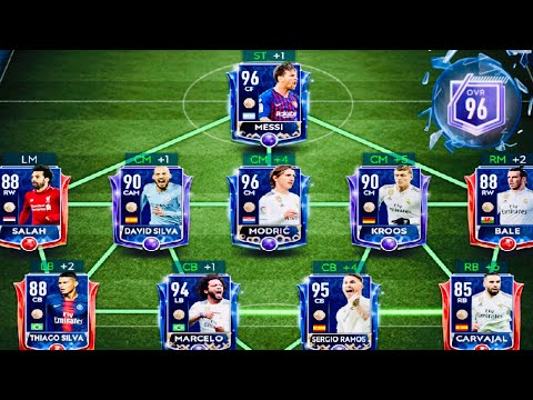 GREATEST TOTY TEAMS AND GAMEPLAY IN FIFA MOBILE 19-TOTY Masters Messi ,Ronaldo,Modric and Ramos thumbnail