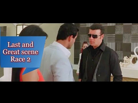 Race 2 Last Scene [ Epic Suspense Revealed Scene ] Race 2 Movie John Abraham And Saif Ali Khan