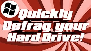How To Defrag Your Hard Drive [Simple Tutorial]