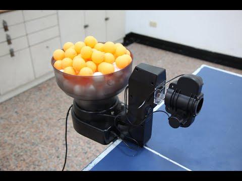 SUZ桌球發球機S101.乒乓球機器人一人打球Table Tennis Robot
