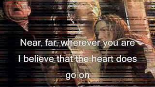 My Heart Will Go On (remix) - Celine Dion (HQ WITH LYRICS)