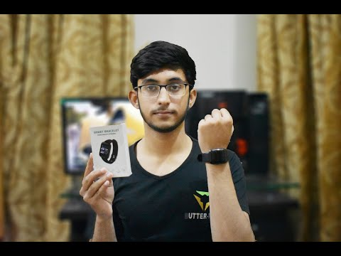 unboxing-and-review-of-smart-bracelet-d13-|-fitpro-|-daraz