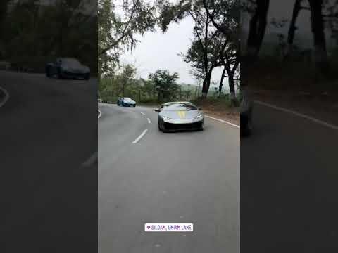 Lamborghini Huracan In Shillong Youtube