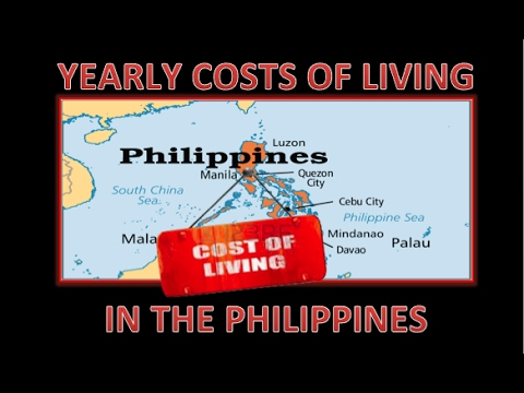 Cost of Living in the Philippines for a Year ✅